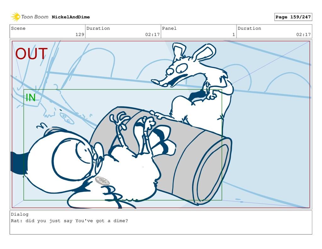 Scene 129 Duration 02:17 Panel 1 Duration 02:17...