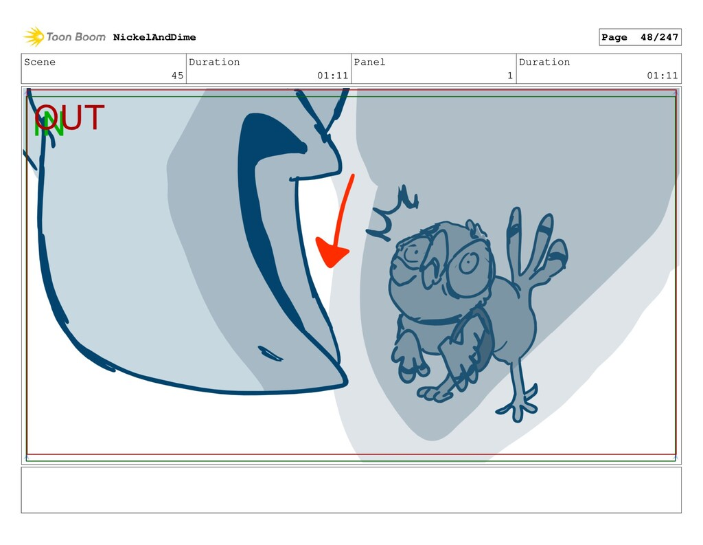Scene 45 Duration 01:11 Panel 1 Duration 01:11 ...