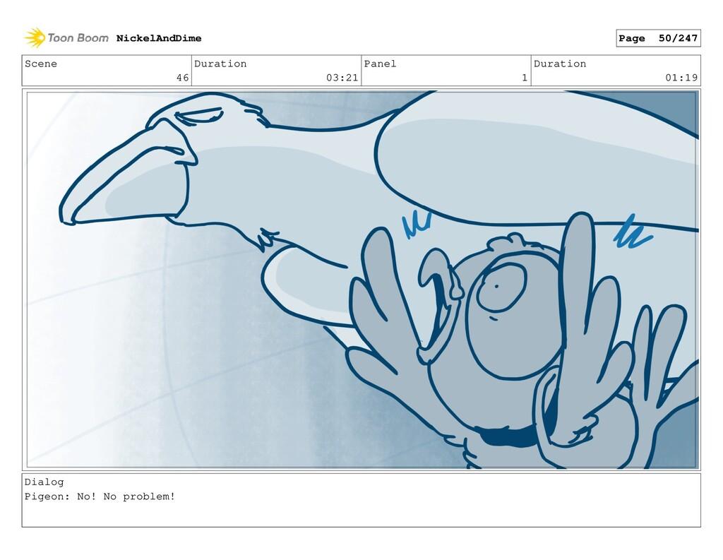 Scene 46 Duration 03:21 Panel 1 Duration 01:19 ...