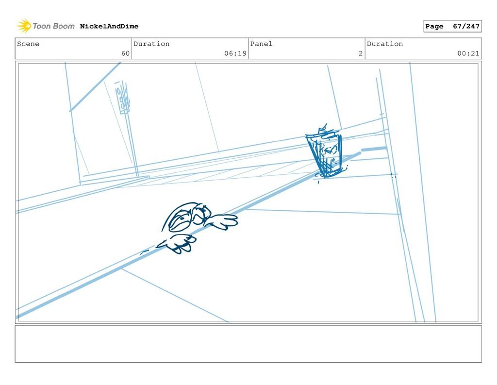 Scene 60 Duration 06:19 Panel 2 Duration 00:21 ...