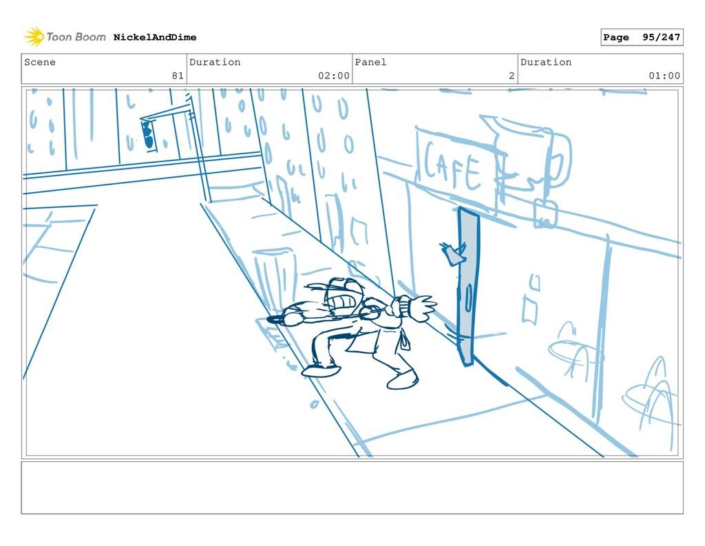 Scene 81 Duration 02:00 Panel 2 Duration 01:00 ...
