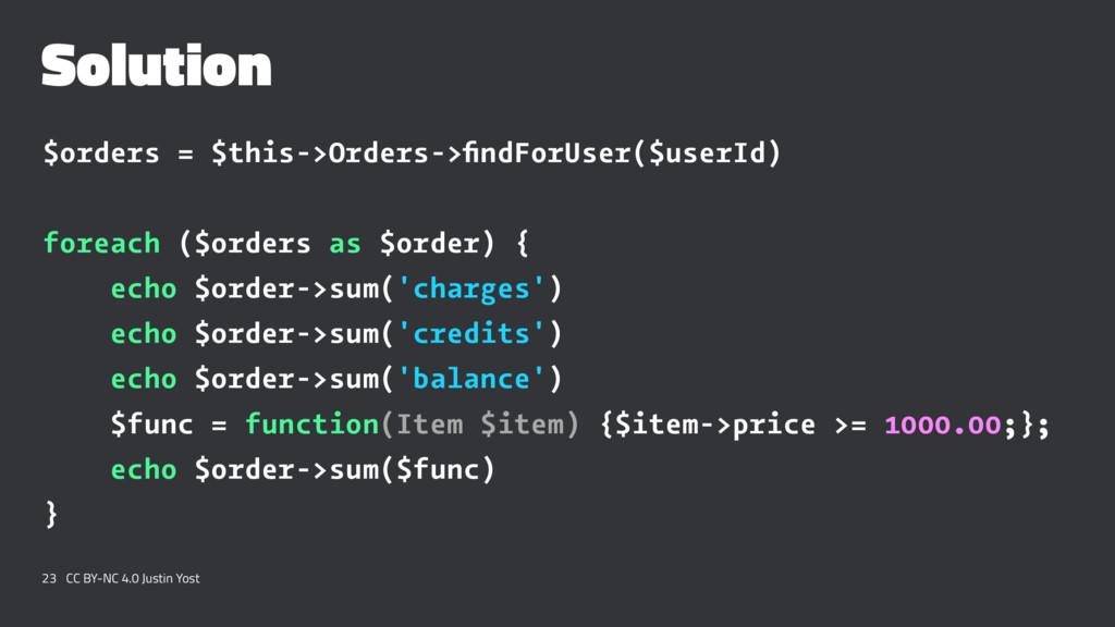 Solution $orders = $this->Orders->findForUser($u...