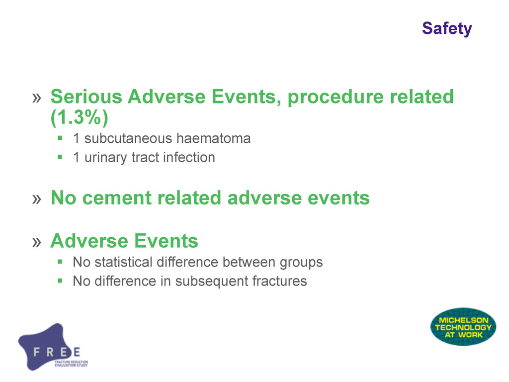 Safety » Serious Adverse Events, procedure rela...
