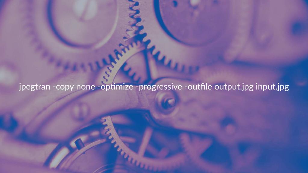 jpegtran)*copy)none)*op.mize)*progressive)*outfi...