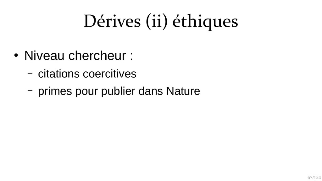 67/125 Gingras, Y., & Khelfaoui, M. (2020) L'ef...