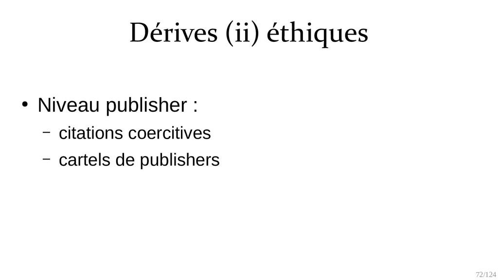 72/125 ● Niveau publishers