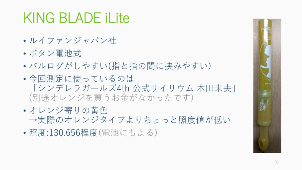 KING BLADE iLite • ルイファンジャパン社 • ボタン電池式 • バルログがし...