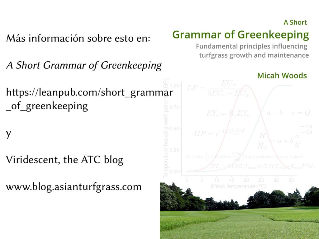 Más información sobre esto en: A Short Grammar ...