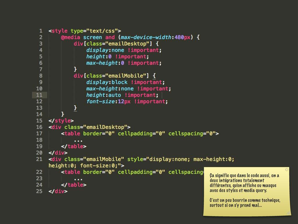 Ça signifie que dans le code aussi, on a deux i...