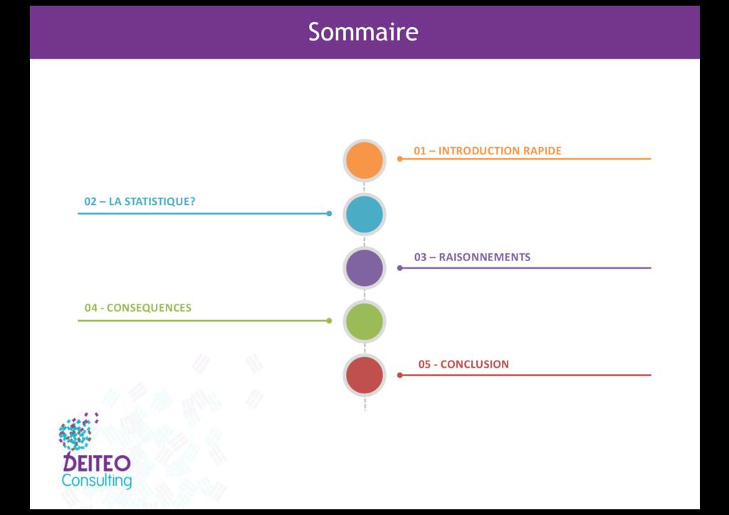 Sommaire 01 – INTRODUCTION RAPIDE 03 – RAISONNE...