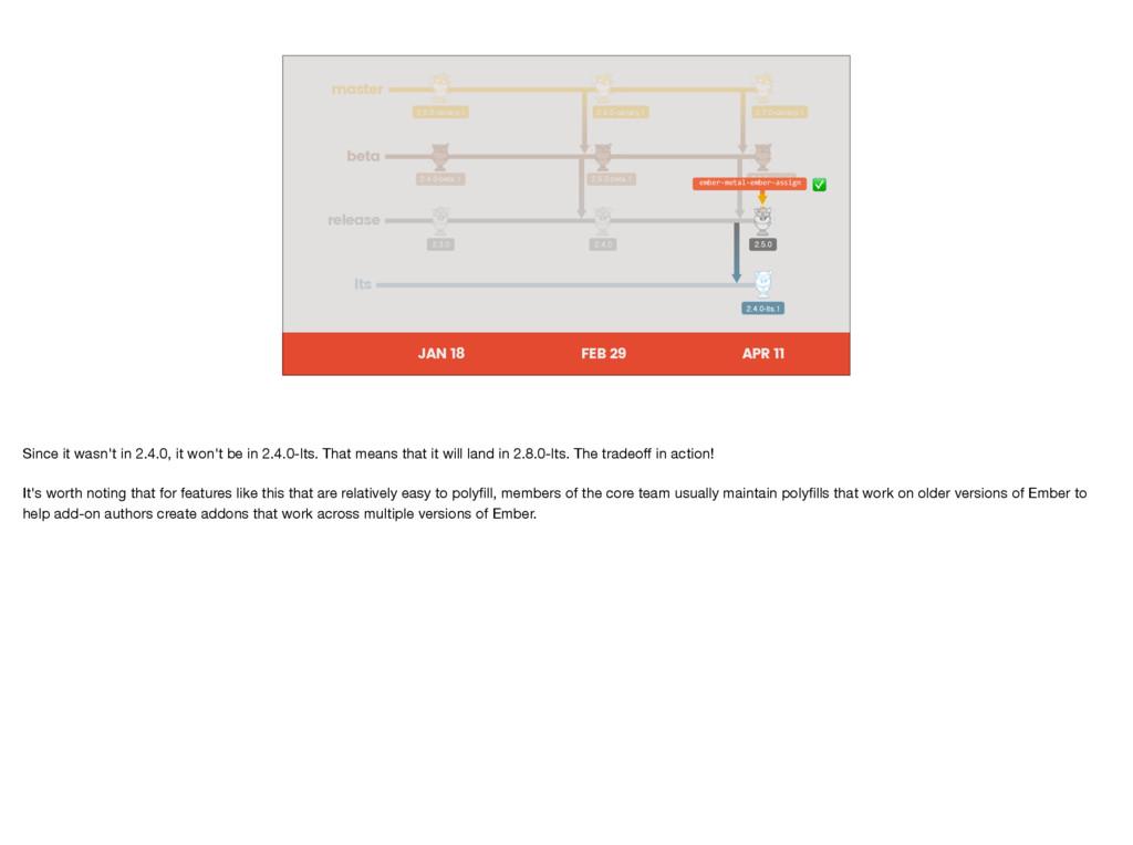 master beta release JAN 18 APR 11 FEB 29 2.5.0-...