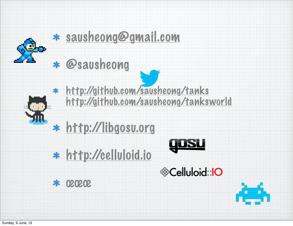 sausheong@gmail.com @sausheong http:/ /github.c...