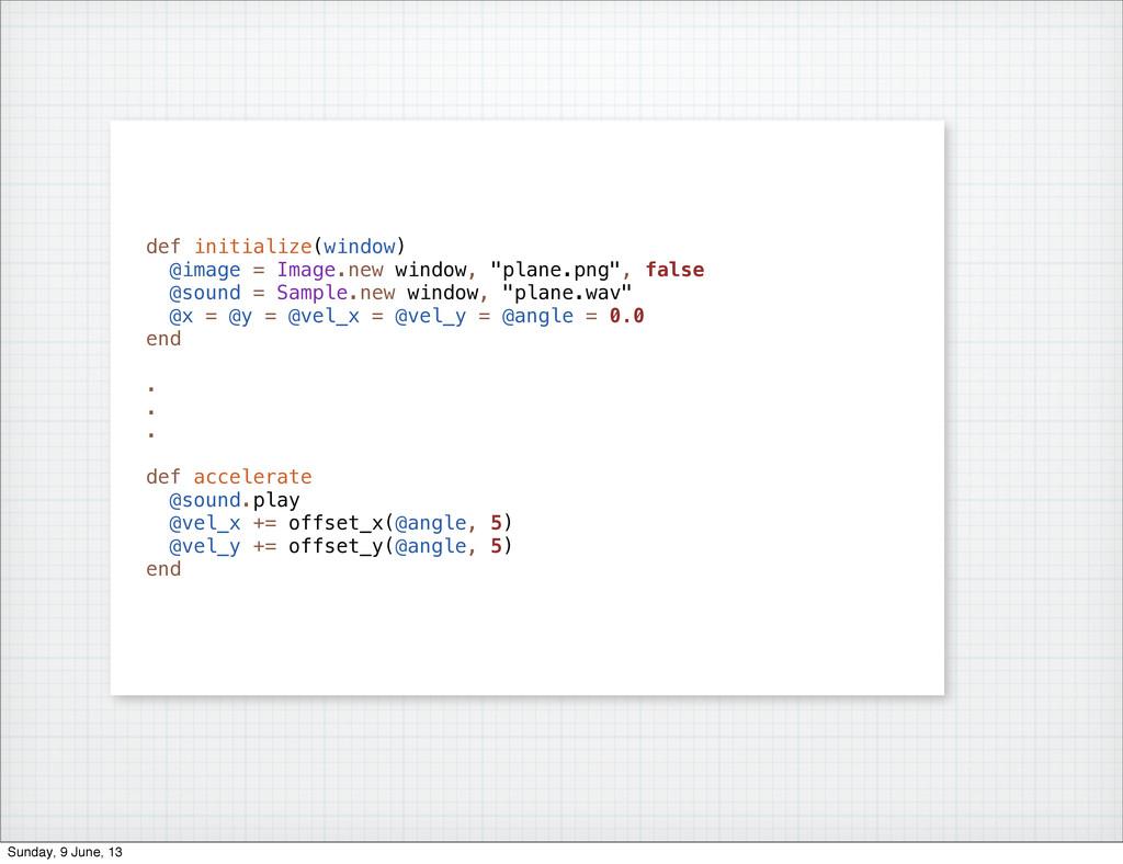def initialize(window) @image = Image.new windo...