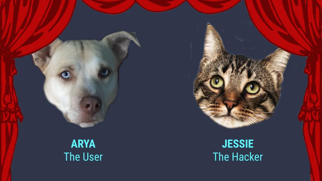 JESSIE The Hacker ARYA The User