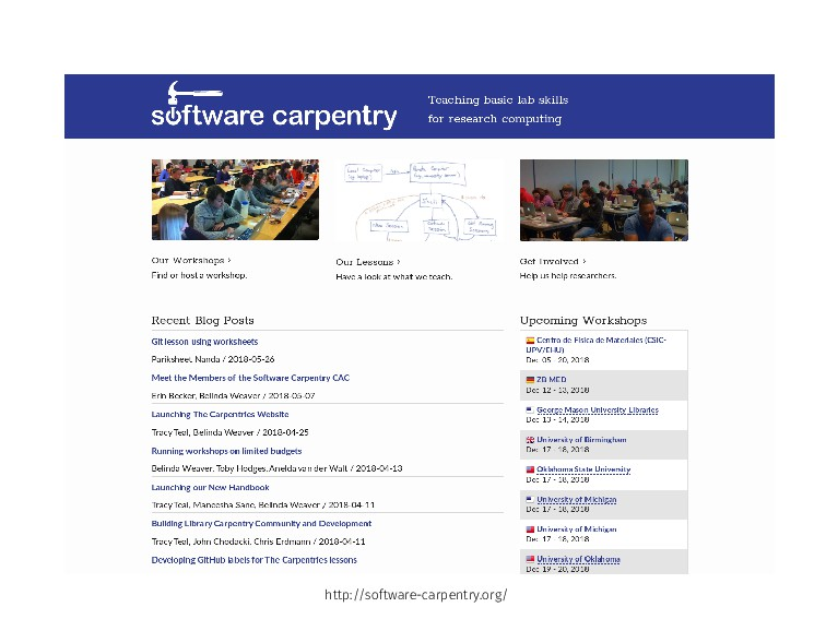 http://so tware-carpentry.org/