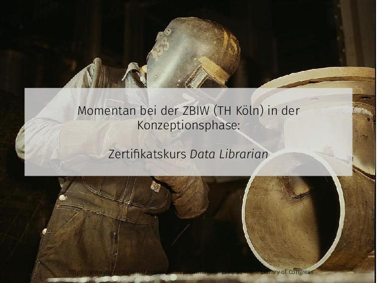 Momentan bei der ZBIW (TH Köln) in der Konzepti...