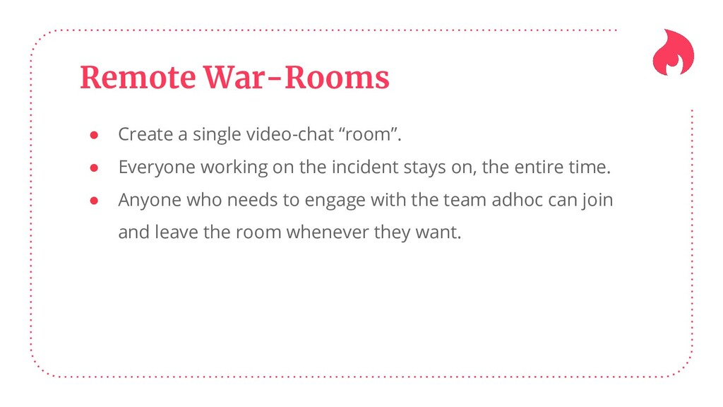 """Remote War-Rooms ● Create a single video-chat """"..."""