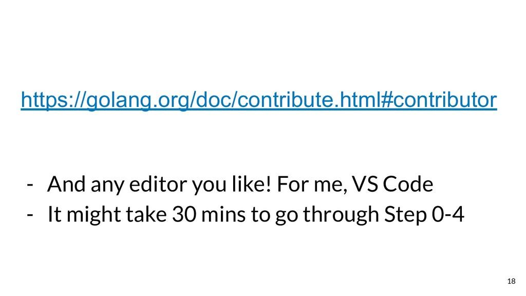 https://golang.org/doc/contribute.html#contribu...