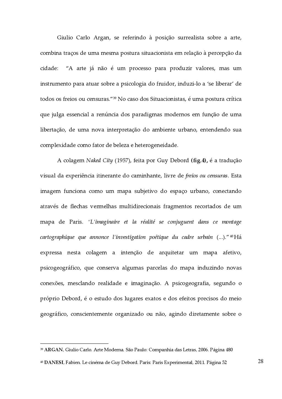 28 Giulio  Carlo  Argan,  se  referindo  à...