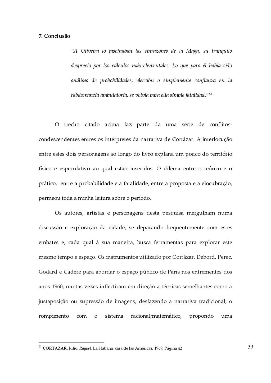 """39 7. Conclusão  """"A  Oliveira  lo  fascina..."""