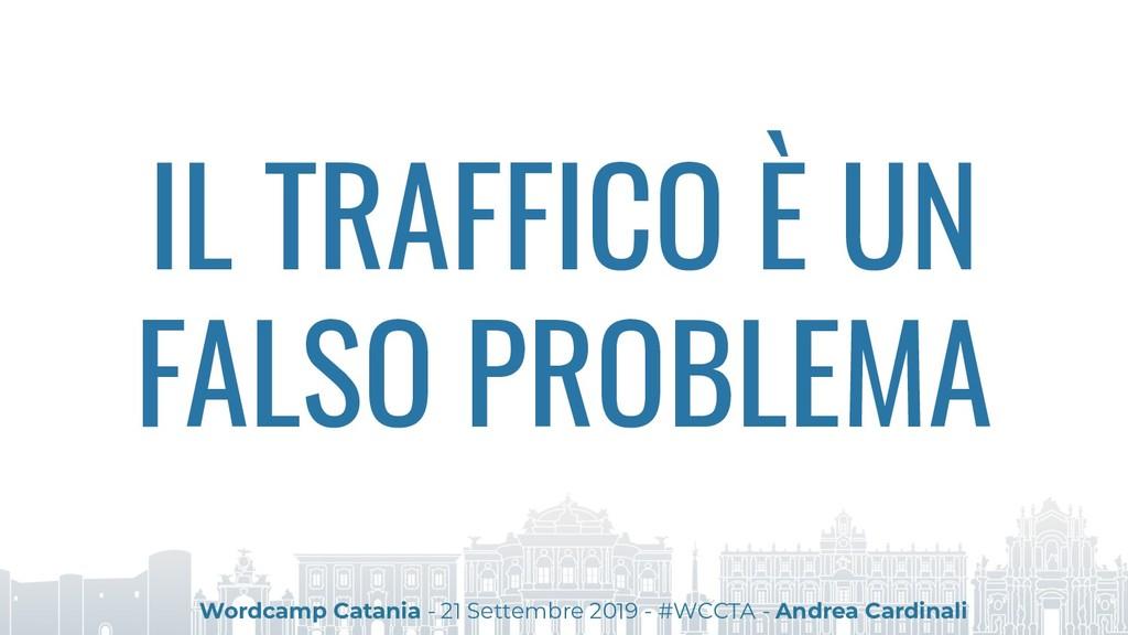 IL TRAFFICO È UN FALSO PROBLEMA Wordcamp Catani...