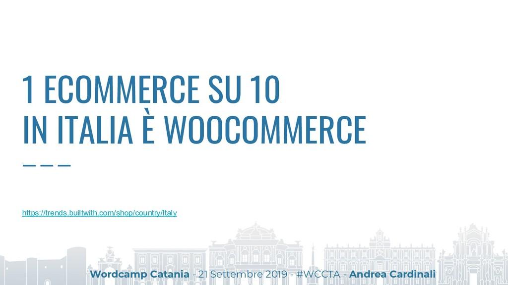 1 ECOMMERCE SU 10 IN ITALIA È WOOCOMMERCE https...