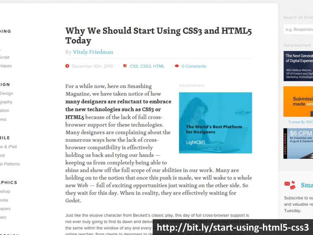 http://bit.ly/start-using-html5-css3