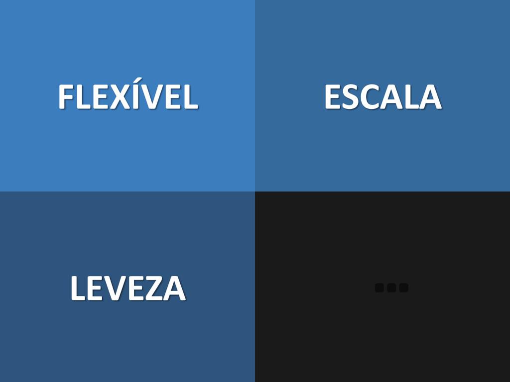 FLEXÍVEL LEVEZA ESCALA