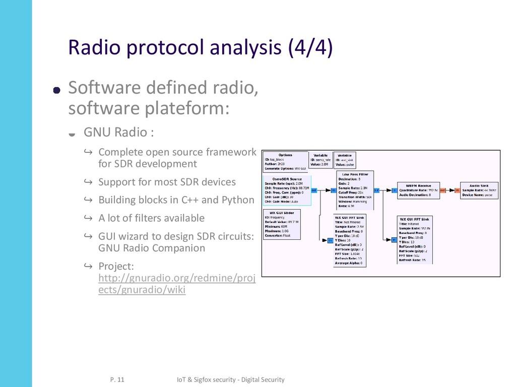 Radio protocol analysis (4/4) Software defined ...