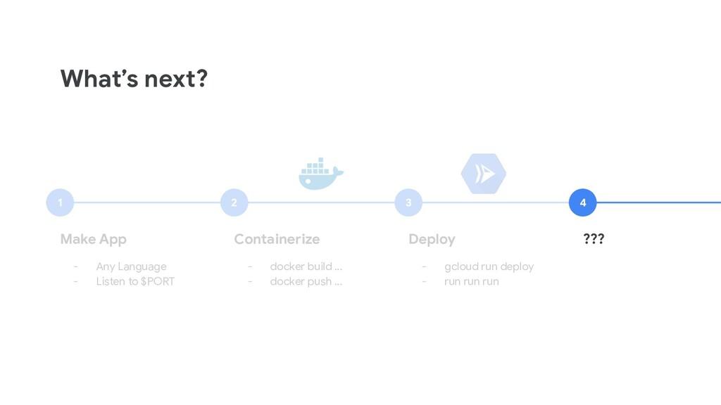 What's next? Make App - Any Language - Listen t...