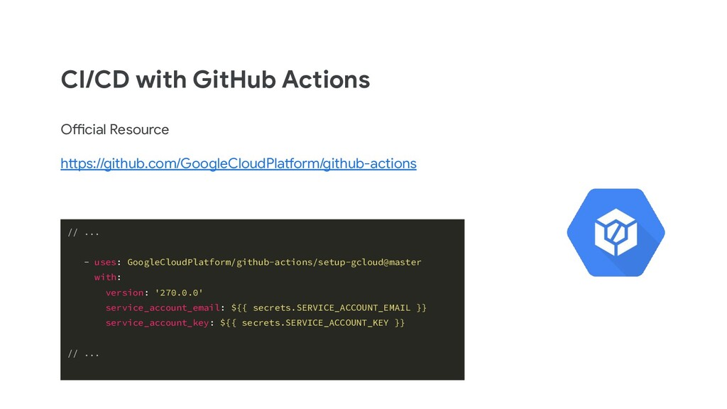 CI/CD with GitHub Actions Official Resource htt...