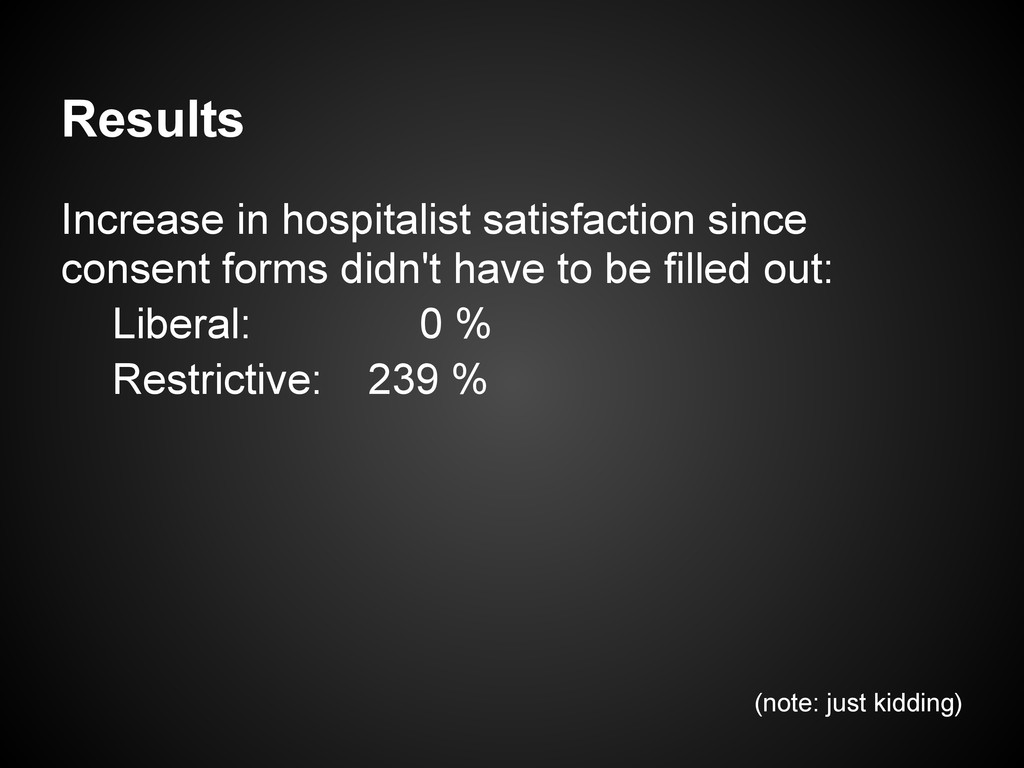 Results Increase in hospitalist satisfaction si...