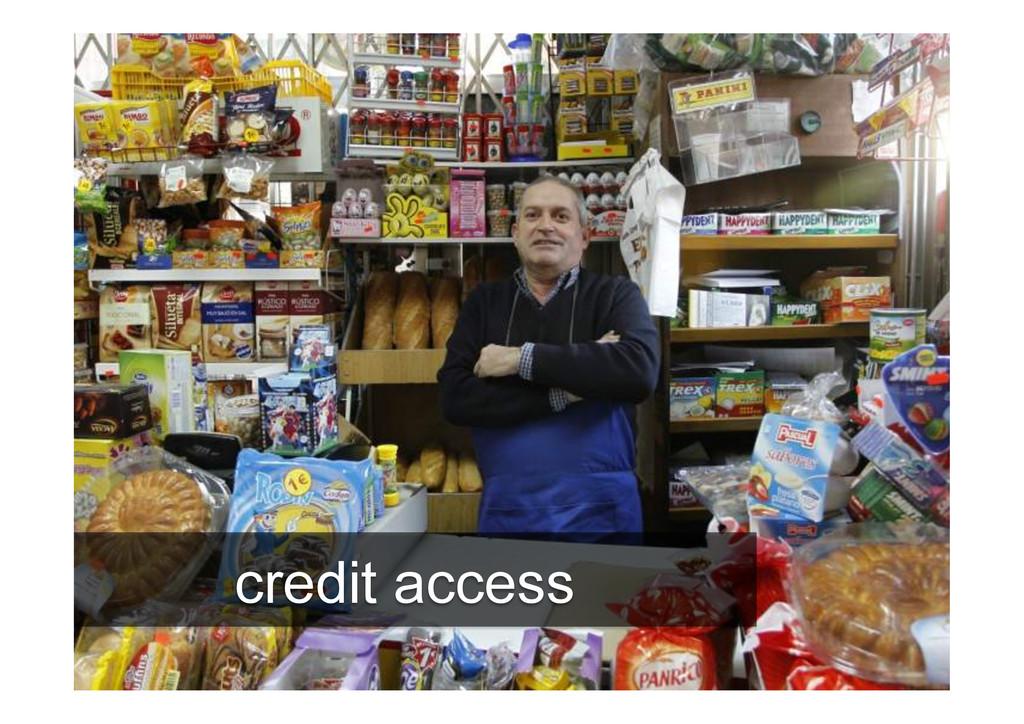 16 credit access