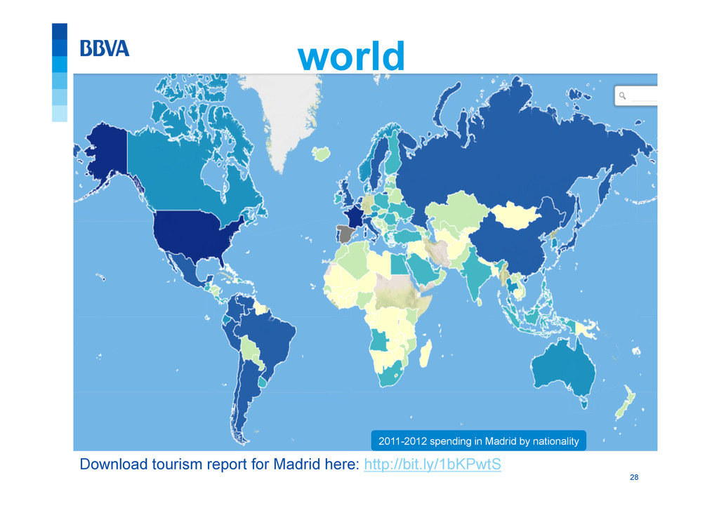 28 world 2011-2012 spending in Madrid by nation...