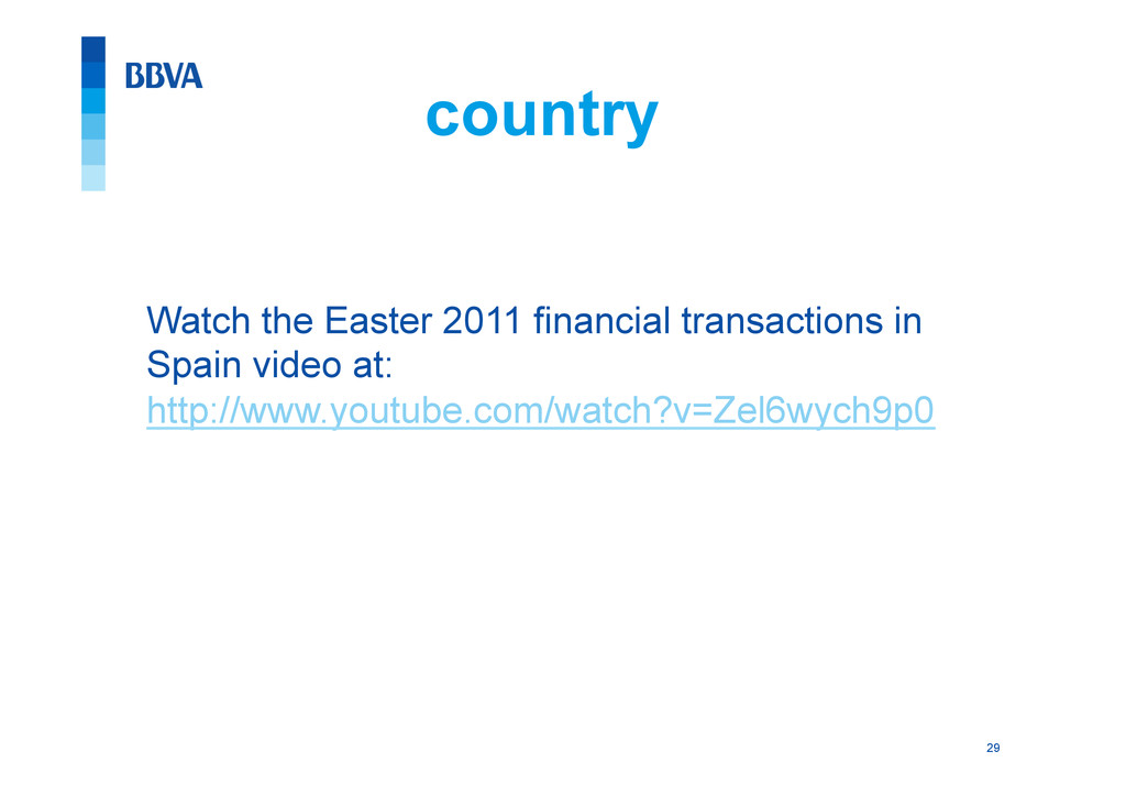 29 country Watch the Easter 2011 financial tran...