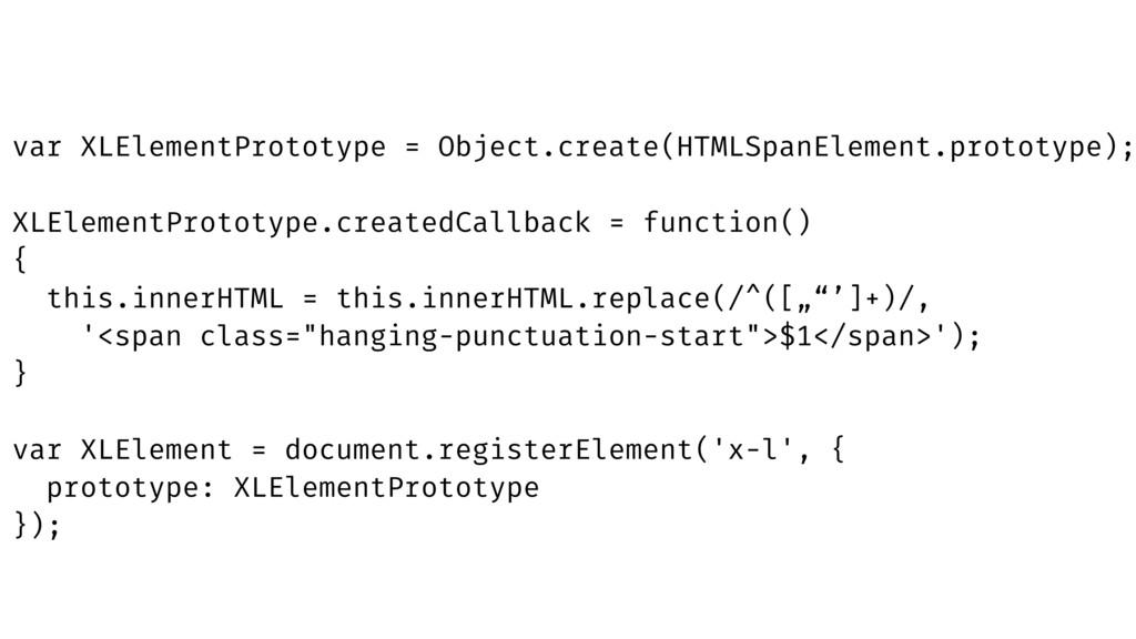 """this.innerHTML = this.innerHTML.replace(/^([""""""""'..."""