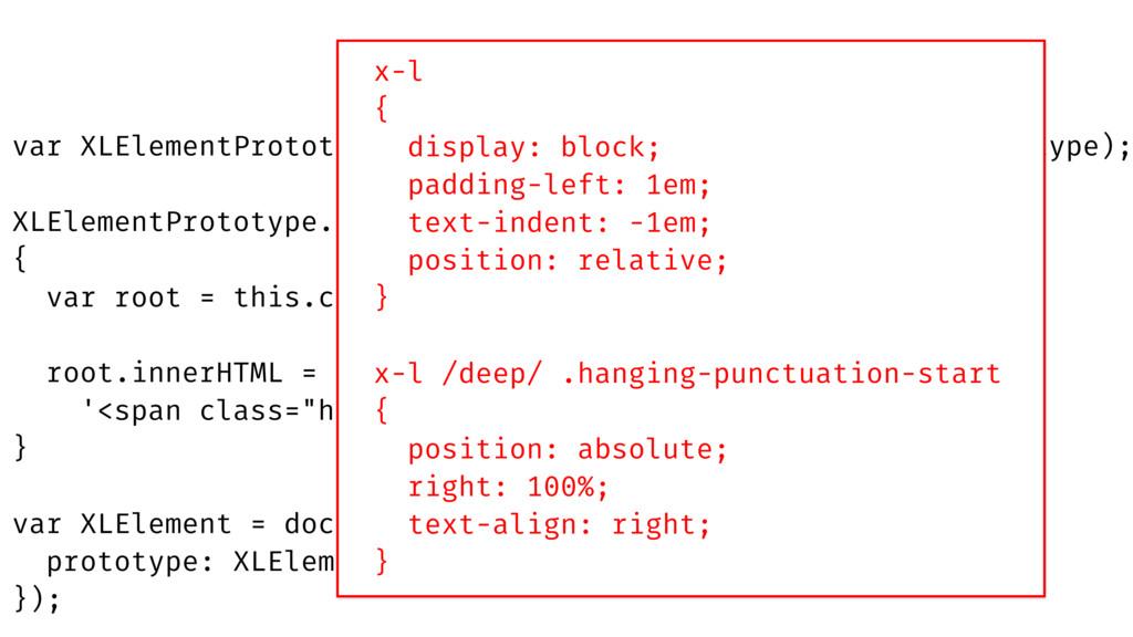 """root.innerHTML = this.innerHTML.replace(/^([""""""""'..."""