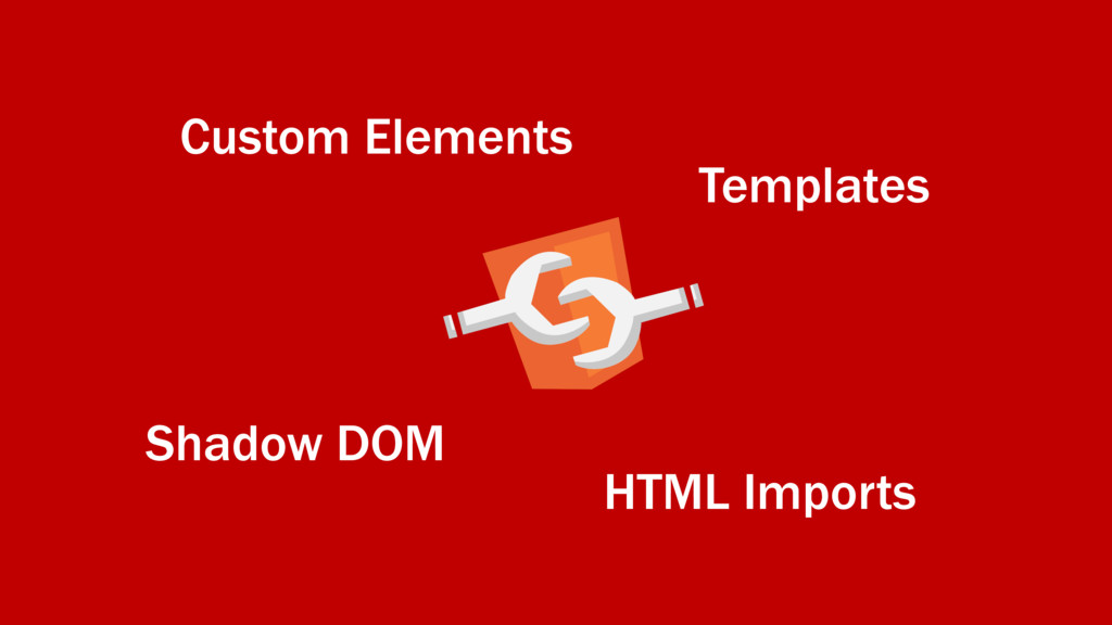 Shadow DOM Custom Elements HTML Imports Templat...