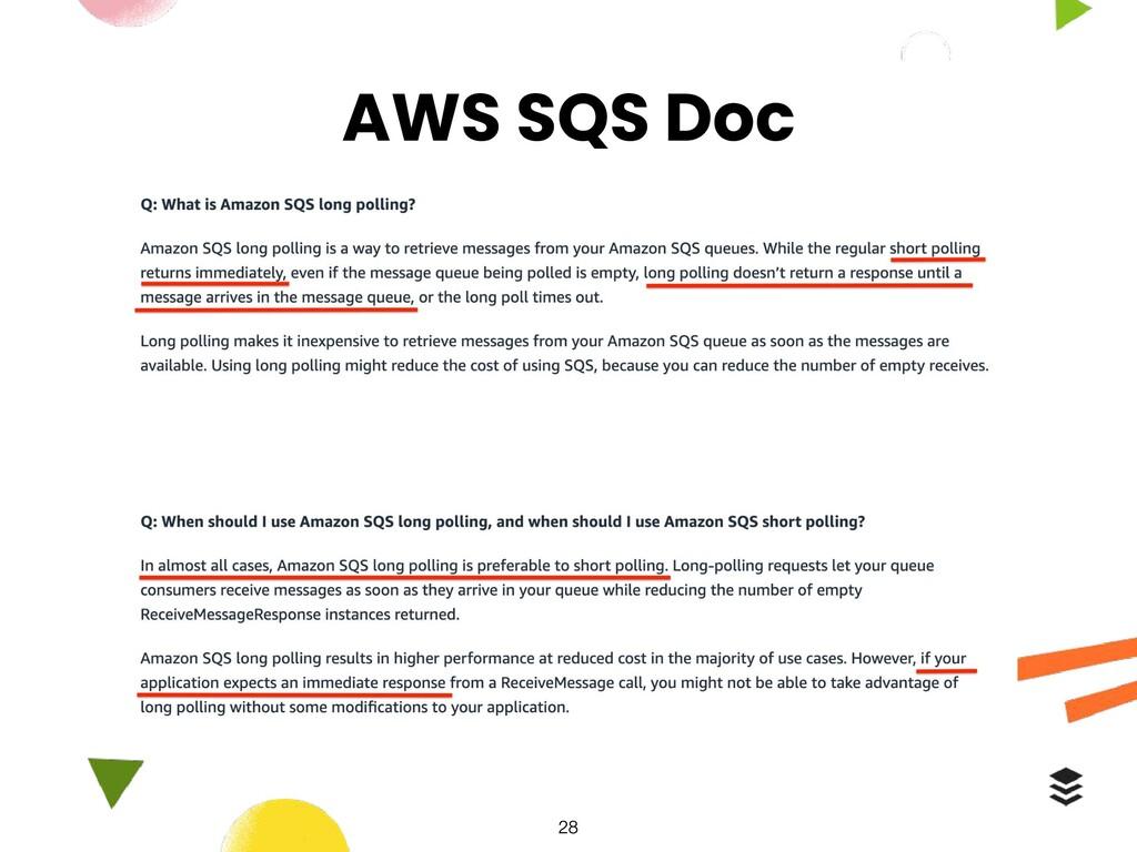 AWS SQS Doc