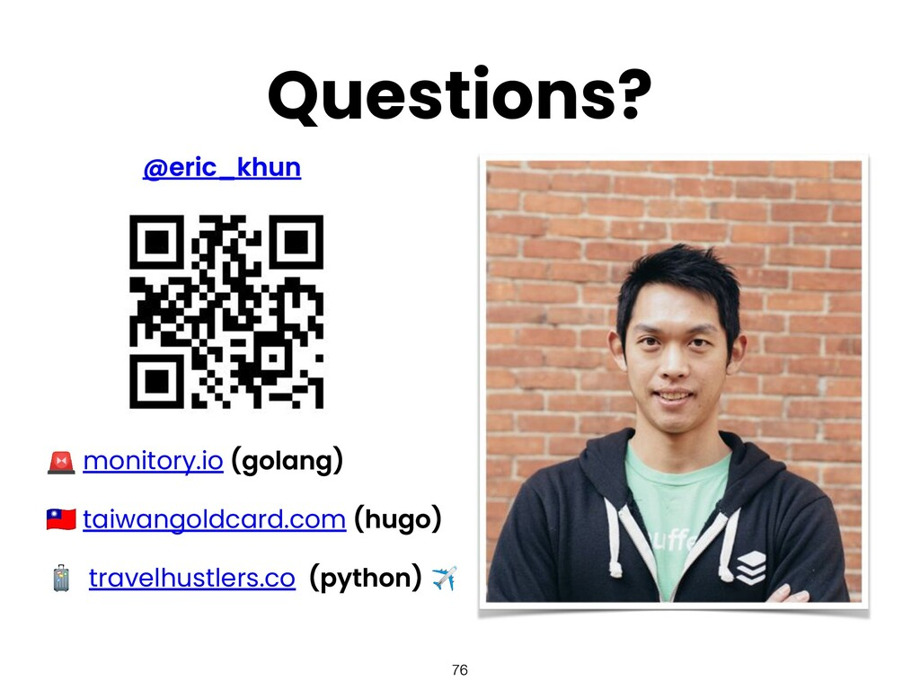 Questions?  monitory.io  taiwangoldcard.com  tr...