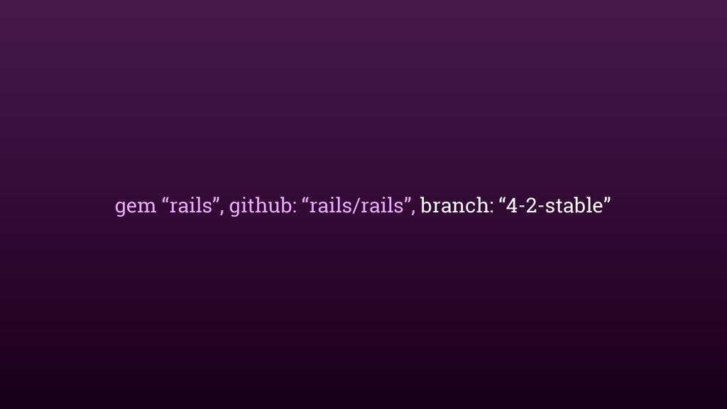 "gem ""rails"", github: ""rails/rails"", branch: ""4-..."