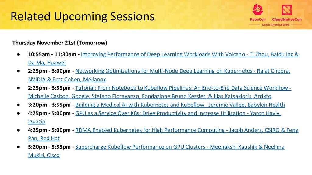 Related Upcoming Sessions Thursday November 21s...