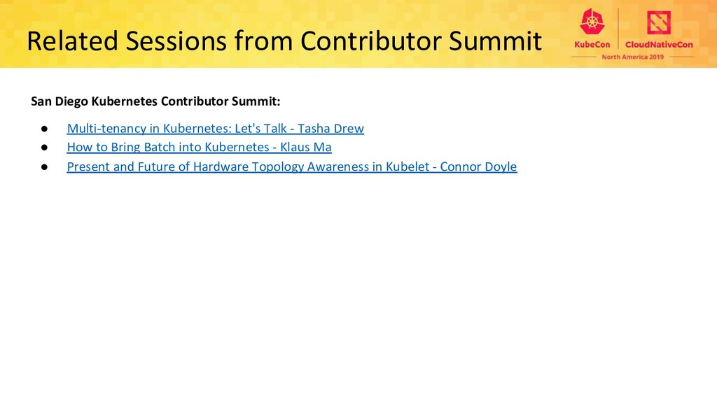 Related Sessions from Contributor Summit San Di...