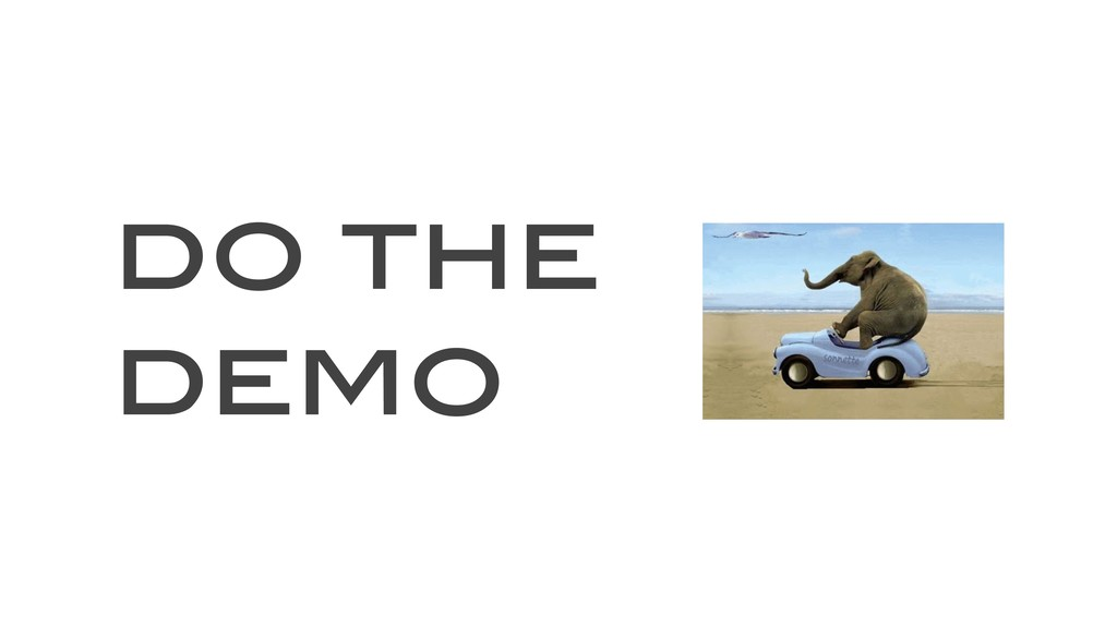 do the demo