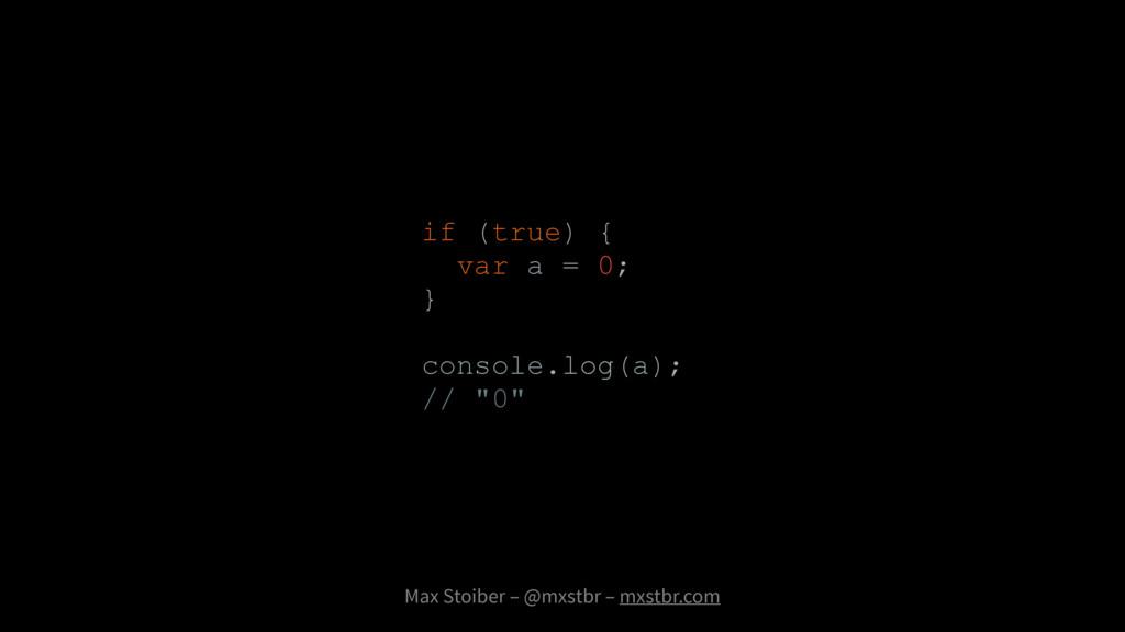 Max Stoiber – @mxstbr – mxstbr.com if (true) { ...