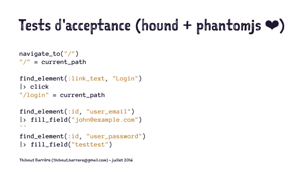 Tests d'acceptance (hound + phantomjs ❤) naviga...