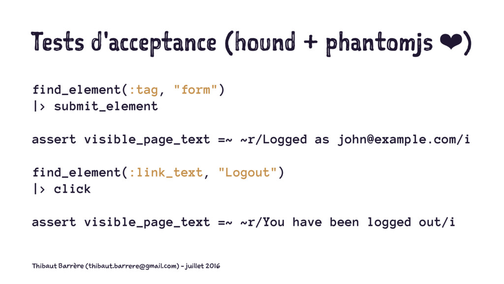 Tests d'acceptance (hound + phantomjs ❤) find_e...