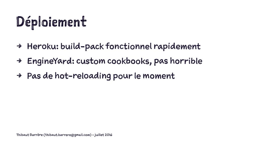 Déploiement 4 Heroku: build-pack fonctionnel ra...