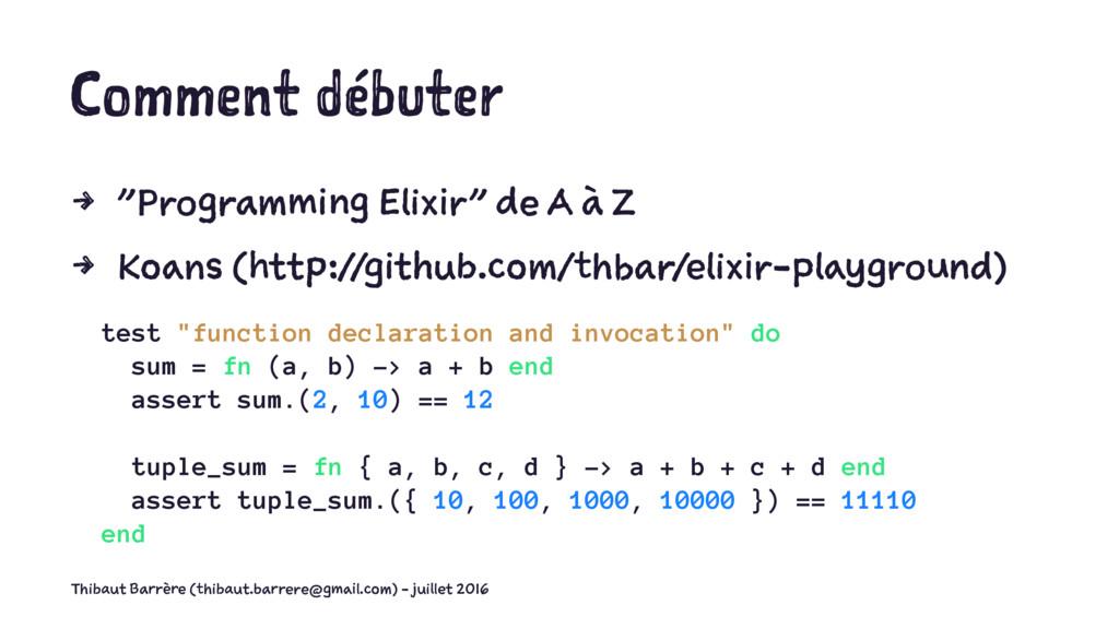 """Comment débuter 4 """"Programming Elixir"""" de A à Z..."""