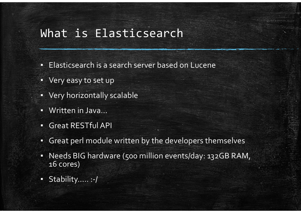 What is Elasticsearch ▪ Elasticsearch is a sear...